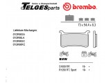07GR90SC Brembo Bremsbelag - SC Sinter Race