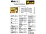 Vesrah Racing-Bremsbeläge RJL, VD-9031RJL